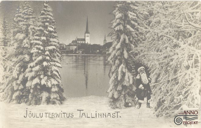 рождество поздравление открытка